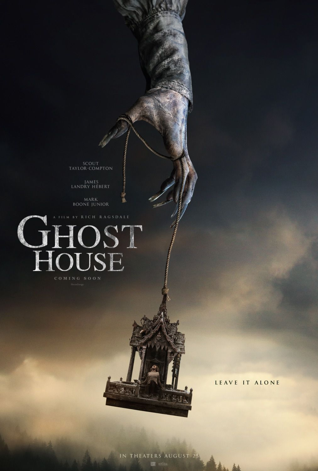 Ghost House - horror poster - Scout Taylor Compton - James Landry Hebert - Mark Boone Junior - Michael S New