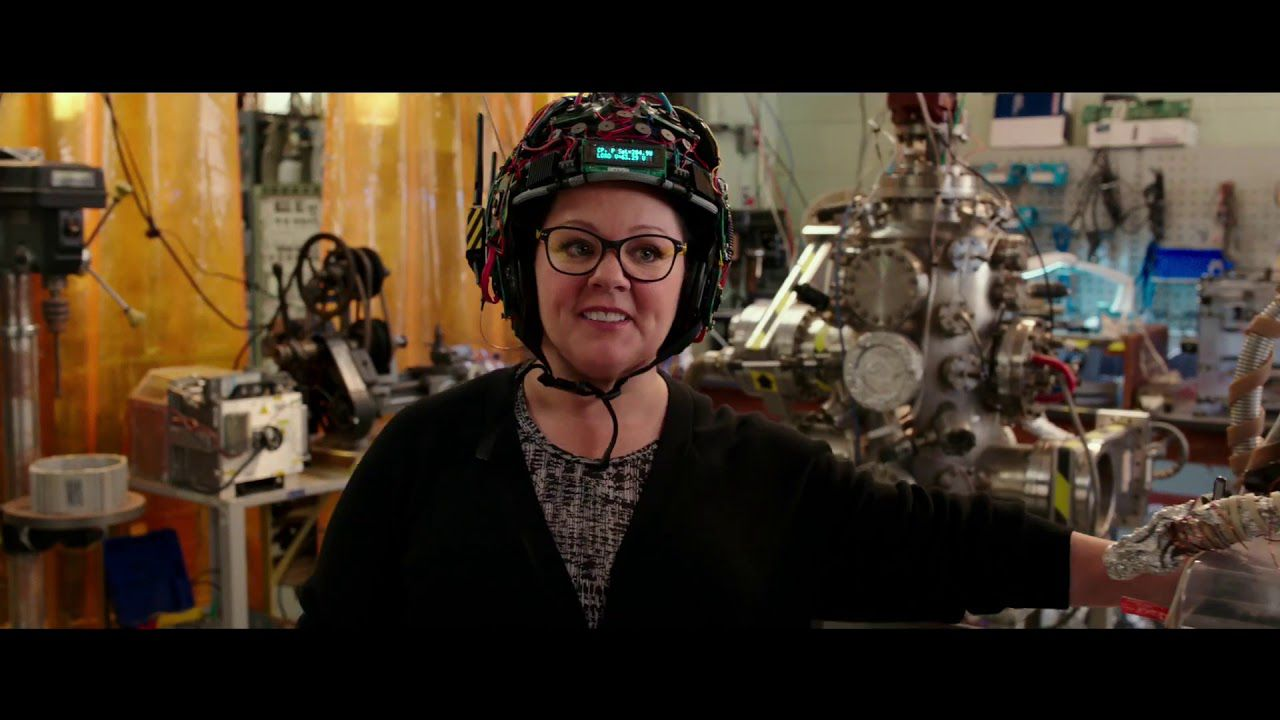 Ghostbusters, she Ghostbusters (2017) - film scene - Abby Yates (Melissa McCarthy)
