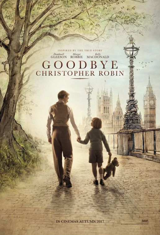 Film - Goodbye Christopher Robin - Born of Winnie The Pooh