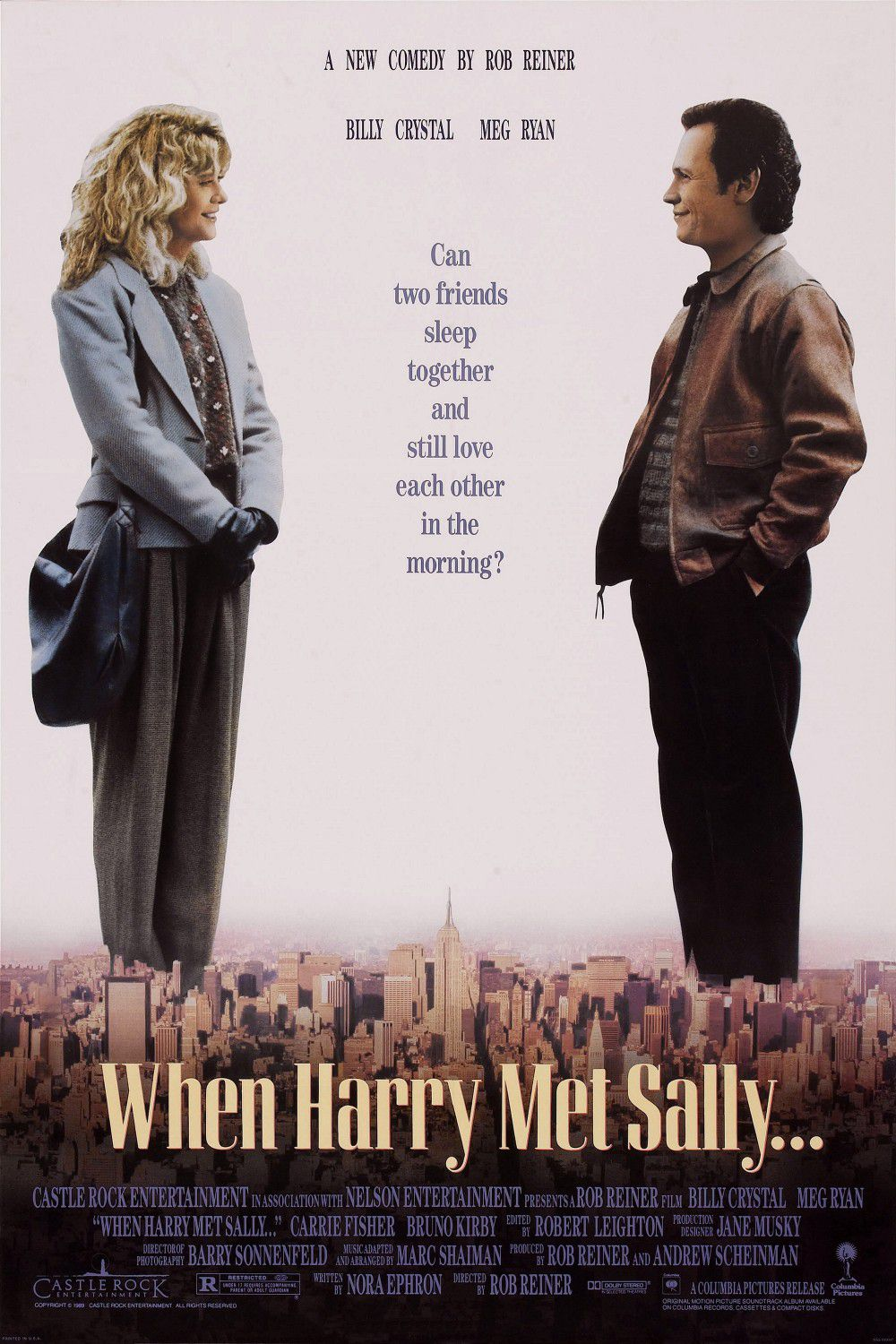 Film - When Harry met Sally - Harry ti presento Sally - love story - Meg Ryan - Billy Crystal