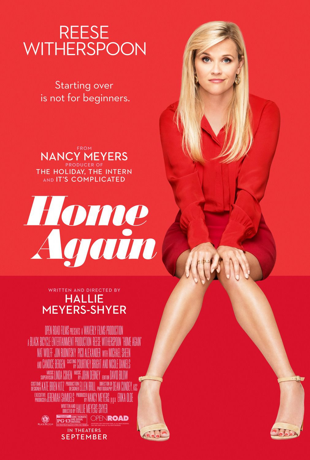 Home again - film poster - Reese Witherspoon - Nat Wolff