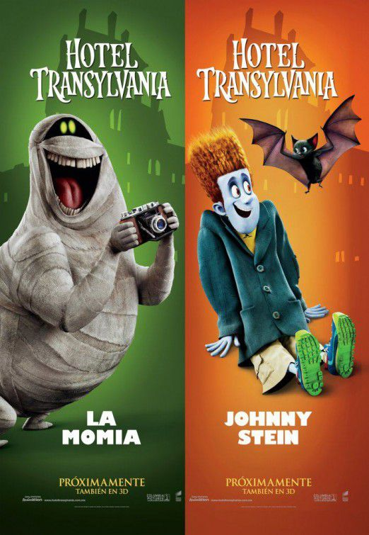 Hotel Transylvania - Mummy and Johnnystein
