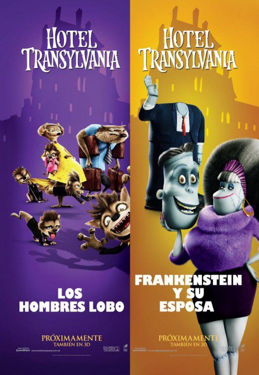 Hotel Transylvania - Wolf and Frankenstain