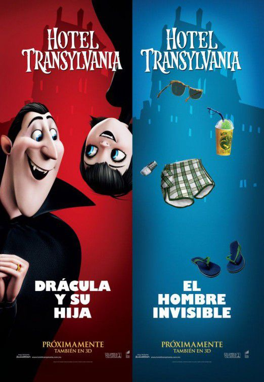 Hotel Transylvania - Invisible Man and Drakula
