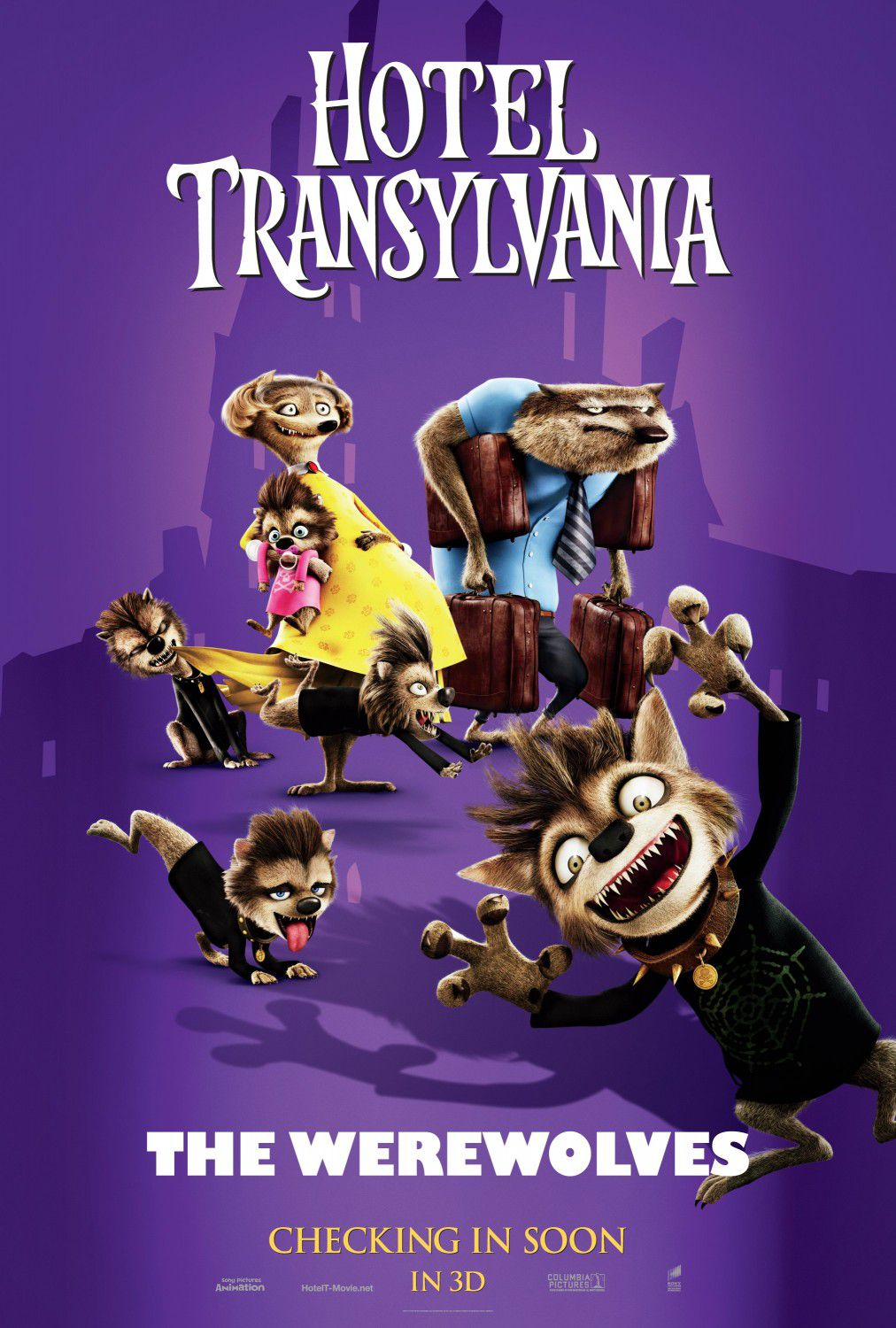 Hotel Transylvania - Wolf and Family