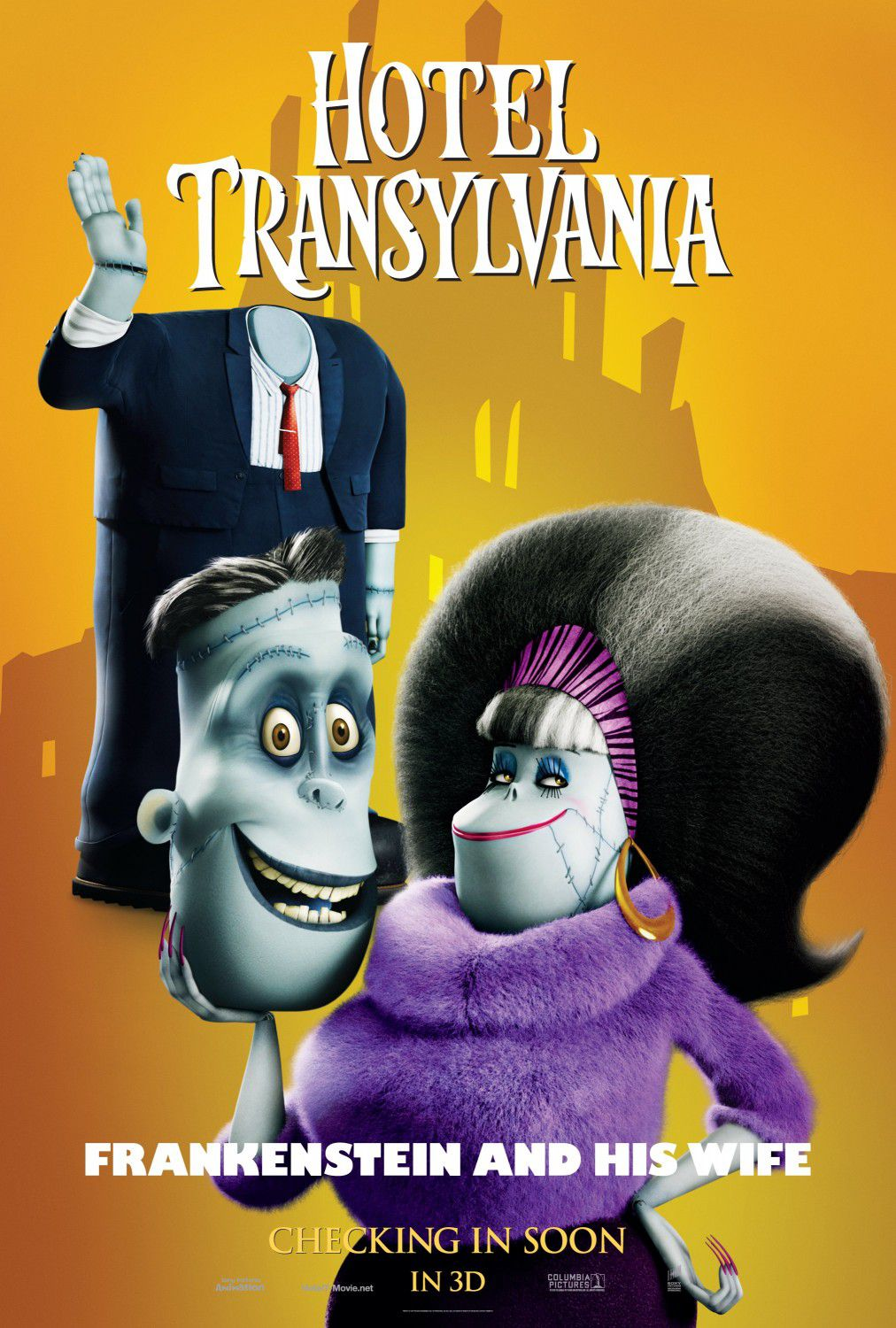 Hotel Transylvania - Frankenstein and Wife