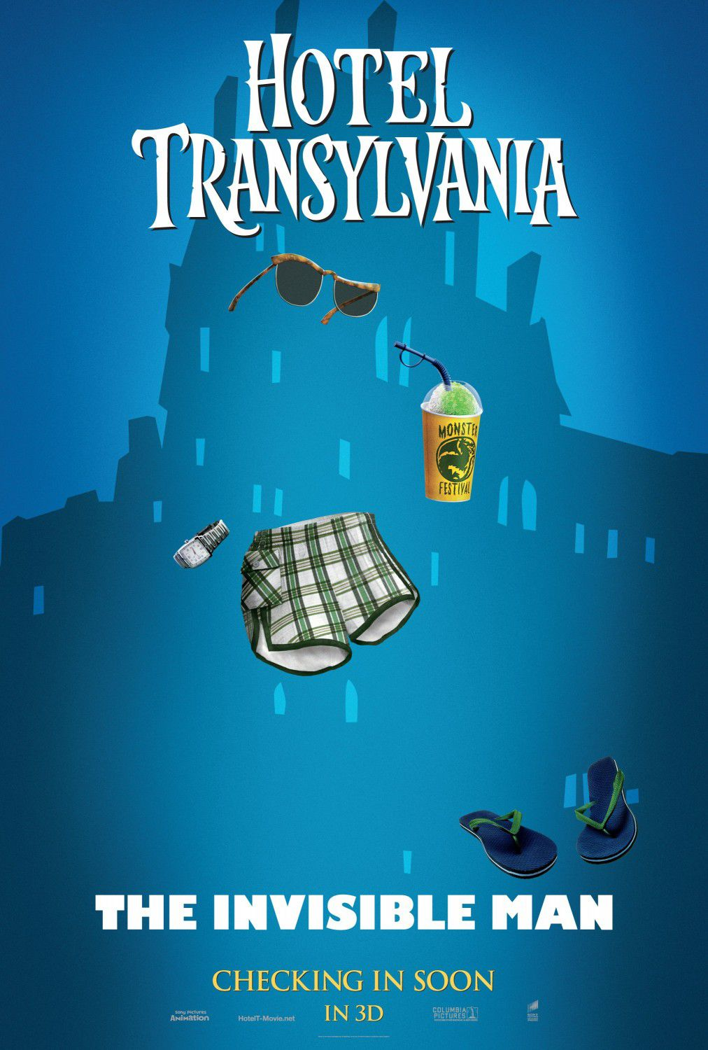 Hotel Transylvania - Invisible Man