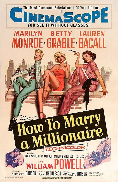 How to Marry a Millionaire - 1953 - Come sposare un Milionario - Marilyn Monroe