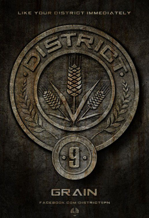 District nine - Distretto 9 - logo Grain