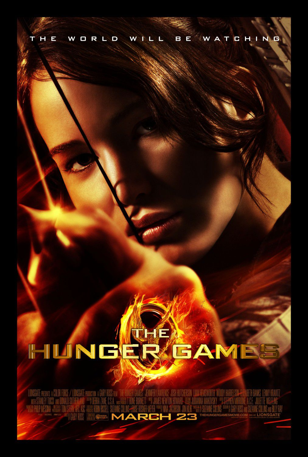 Hunger Games 1 poster