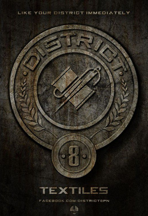 District eight - Distretto 8 - logo Textiles