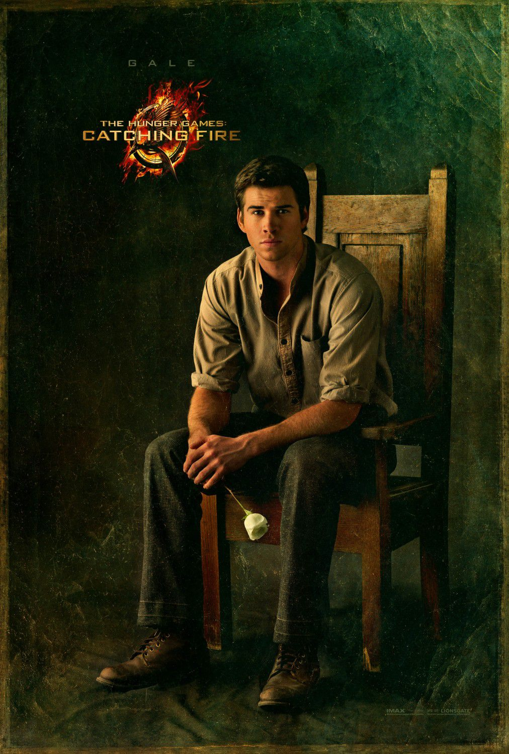 Liam Hemsworth is Gale Hawthorne