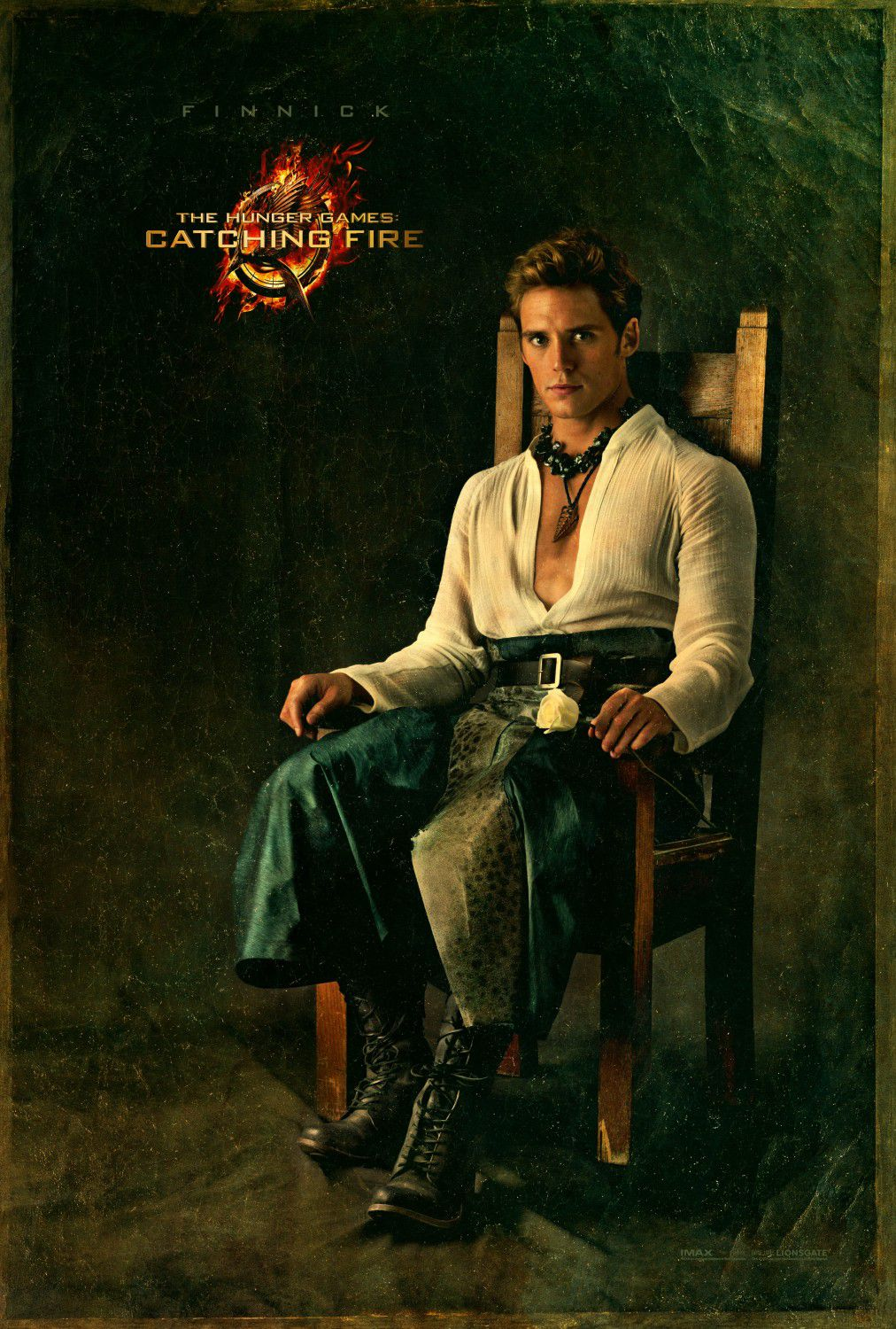 Sam Claflin is Finnick Odair