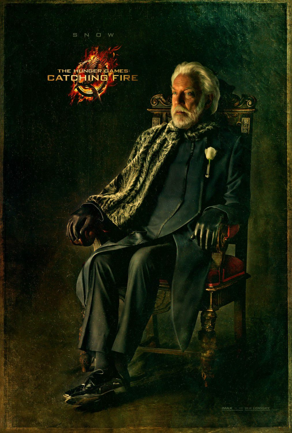 Donald Sutherland is Presidente Snow