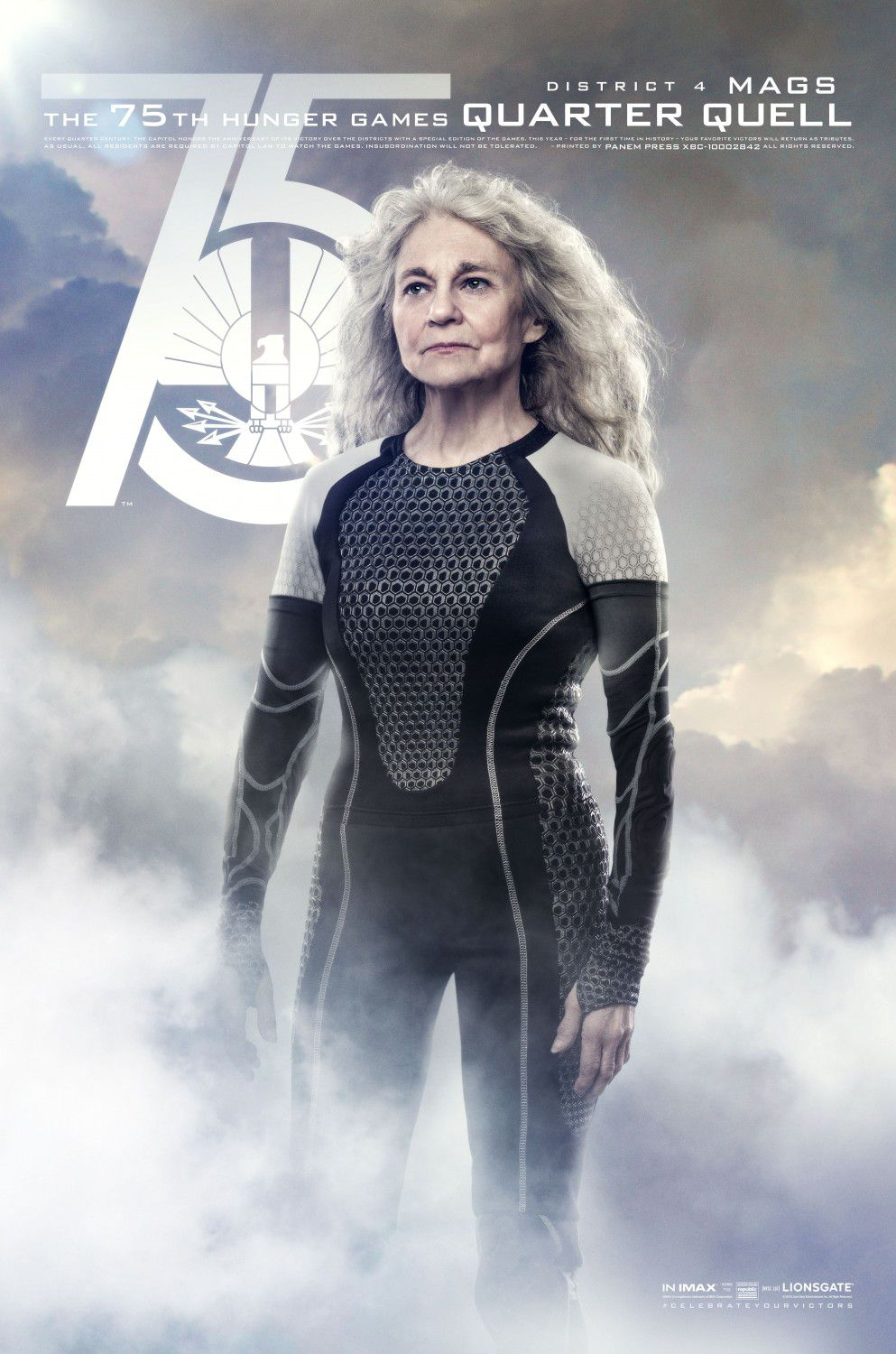 Lynn Cohen is Mags