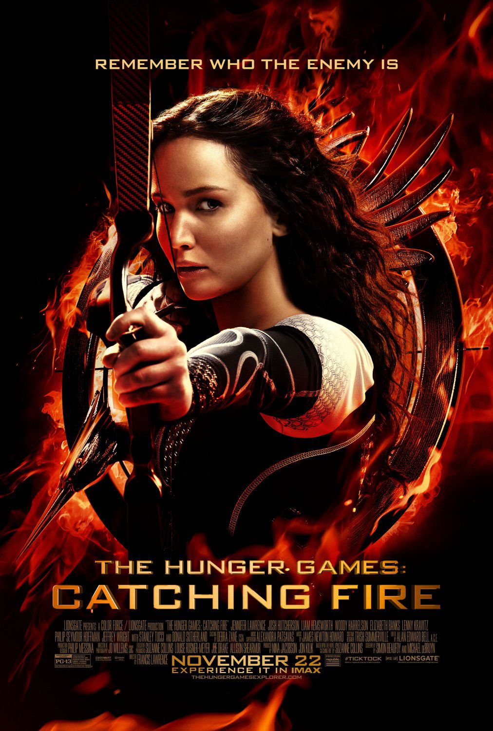 Hunger Games 2 - Catching fire - La Ragazza di Fuoco