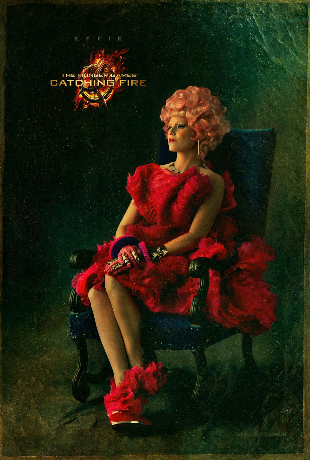 Elizabeth Banks is Effie Trinket