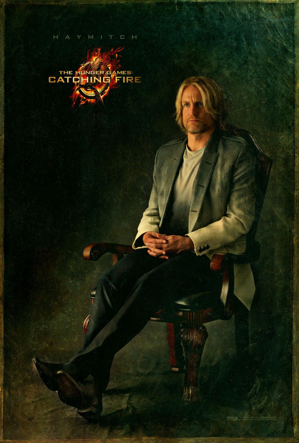 Woody Harrelson is Haymitch Abernathy