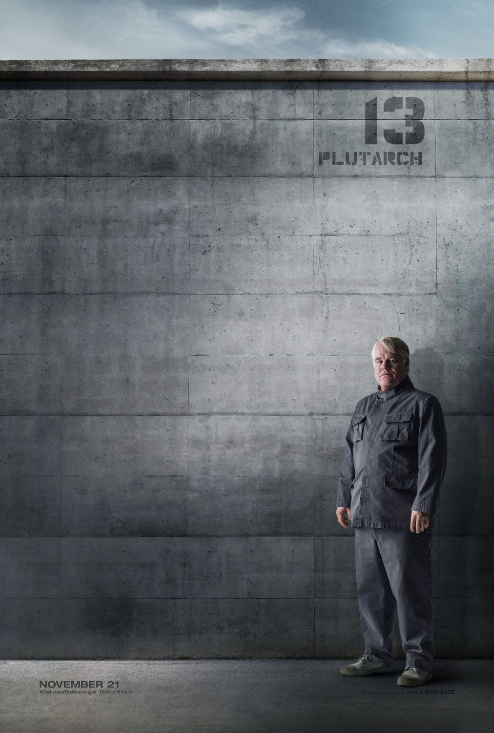 Philip Seymour Hoffman: Plutarch Heavensbee
