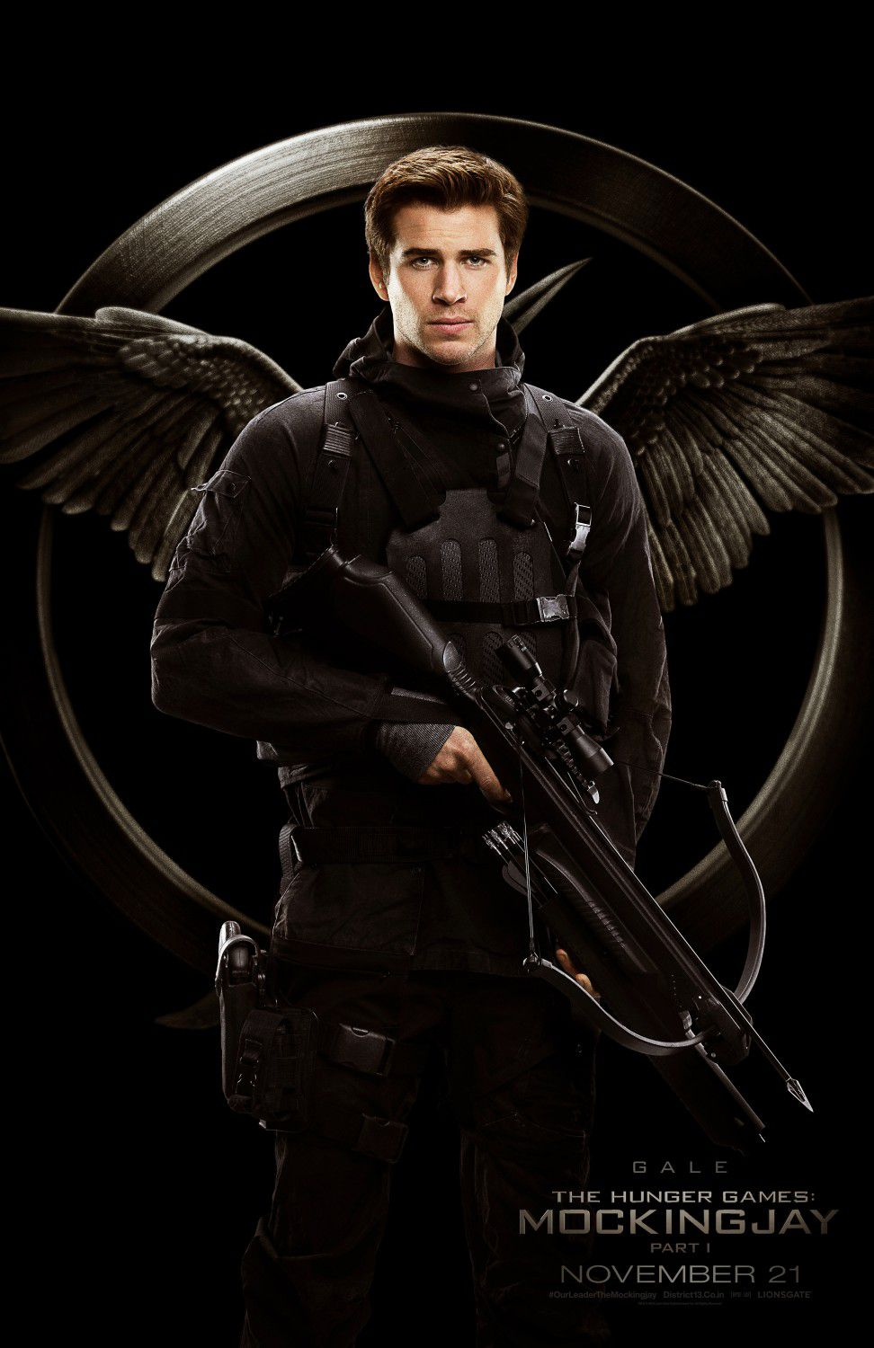 Liam Hemsworth: Gale Hawthorne