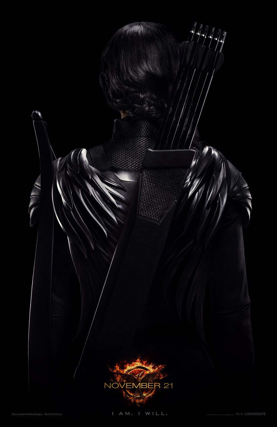 Hunger Games 3 - Mockingjay - part one - Black Katniss