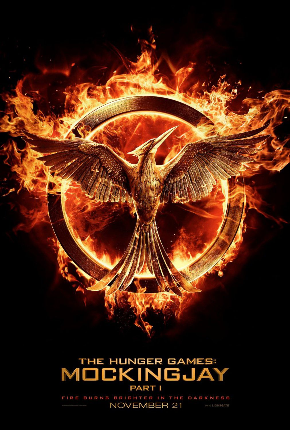 Hunger Games 3 - Mockingjay - part one - poster