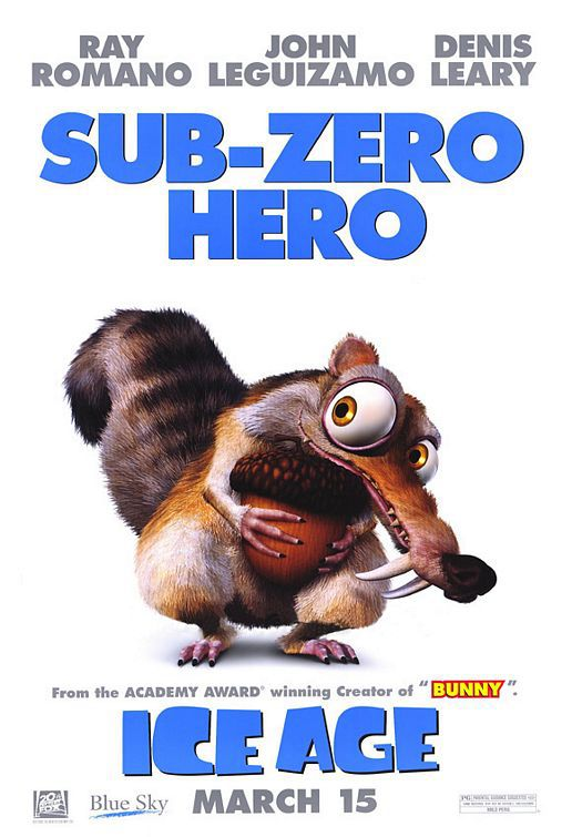 Ice Age first - Sub-Zero Hero - Scrat