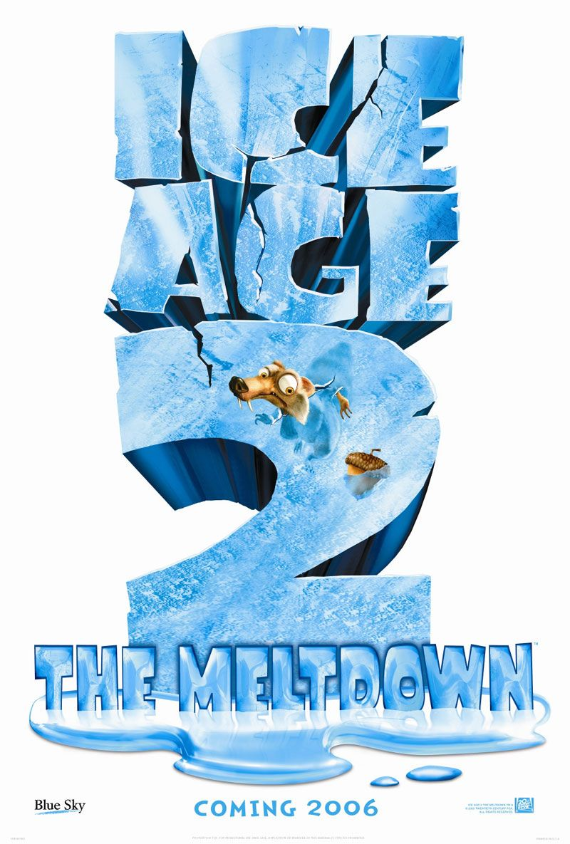 Ice Age 2 - Ice Age two - the Meltdown - il Disgelo - poster