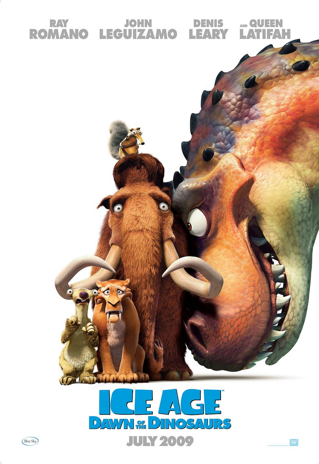 Ice Age 3 - Alba dei Dinosauri (Dawn of the Dinosaurs) - film poster