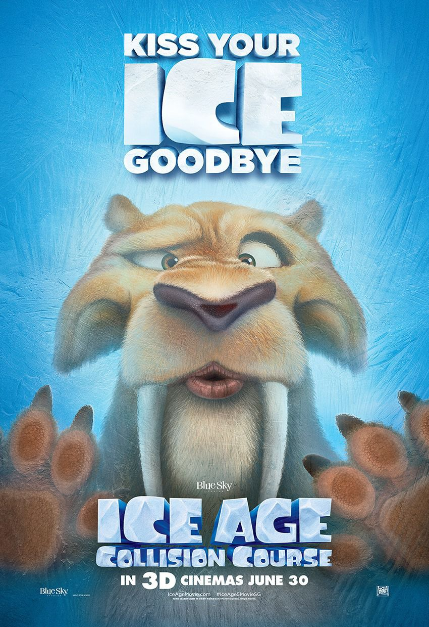 Ice Age 5 - Collision Course - Rotta di Collisione - Diego