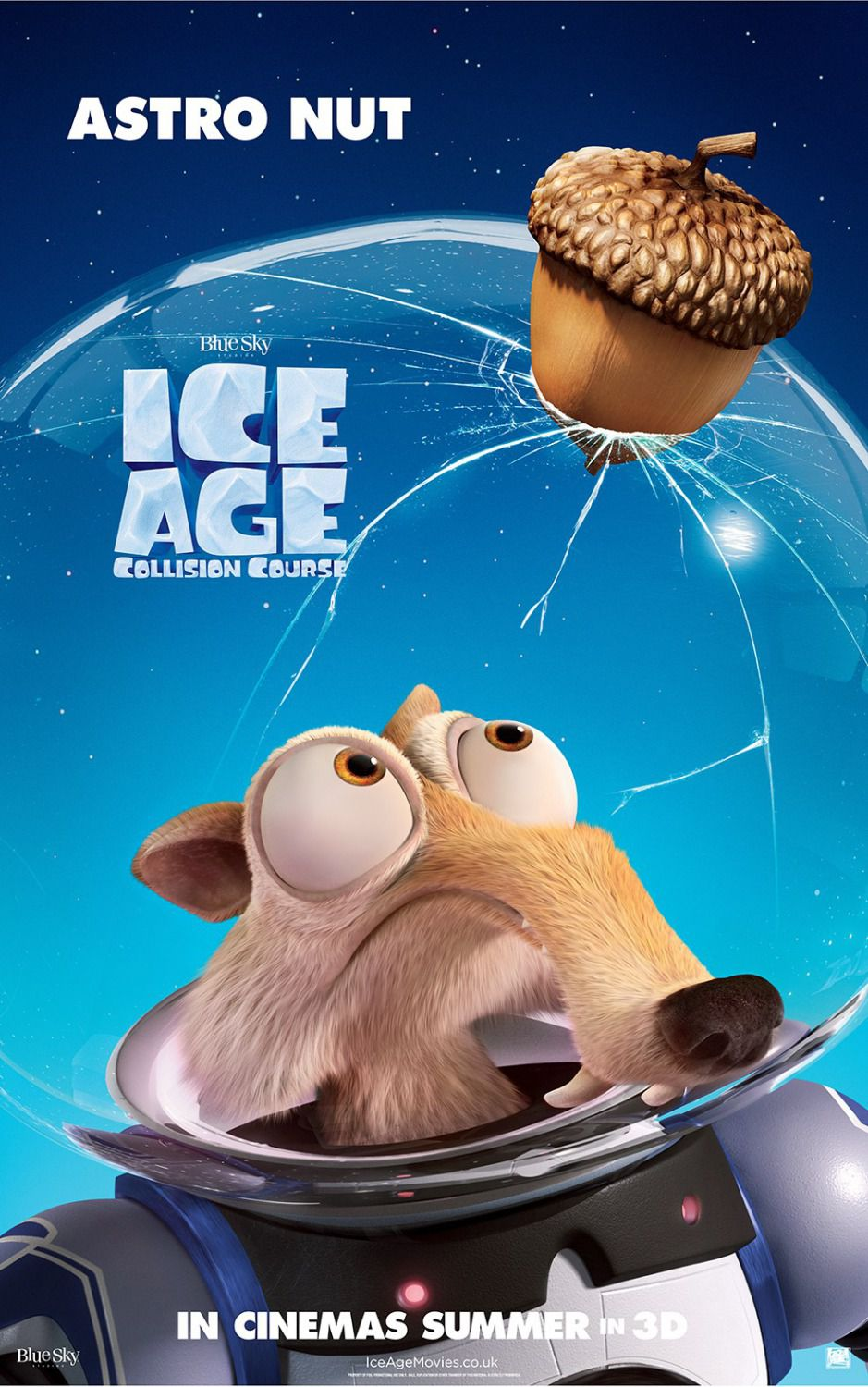 Ice Age 5 - Collision Course - Rotta di Collisione - Space Scrat