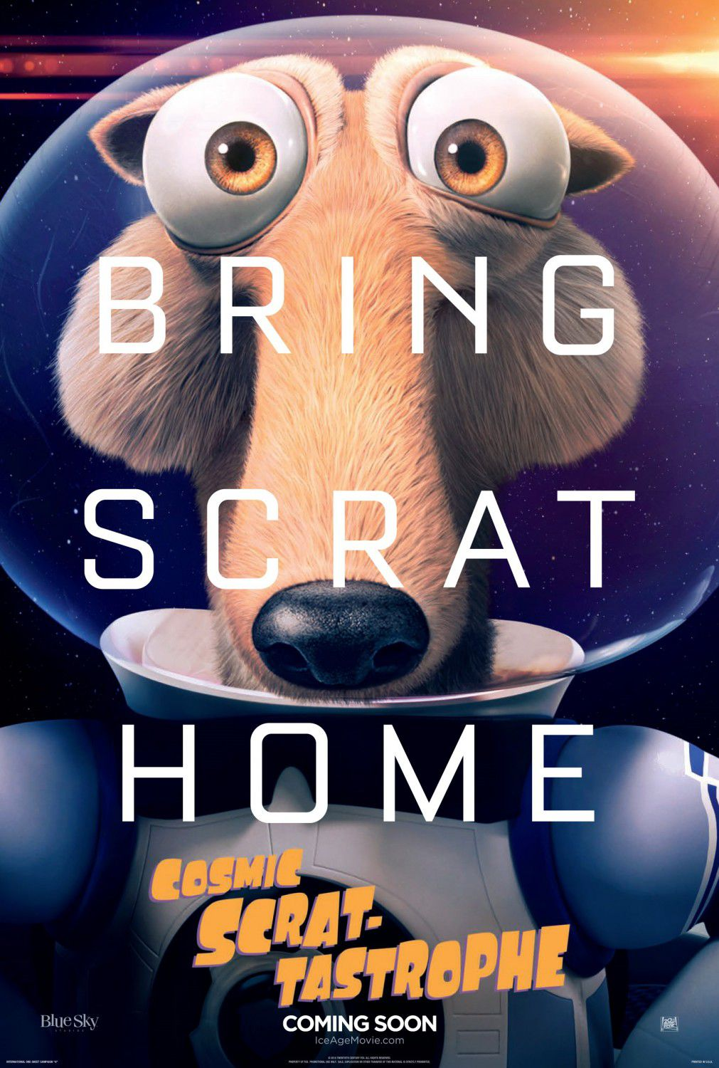 Ice Age 5 - Collision Course - Rotta di Collisione - bring Scrat home