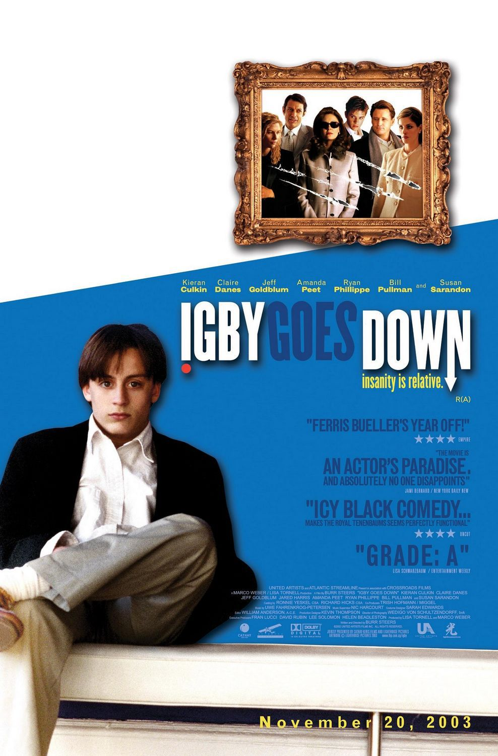 Film - Igby goes down ... con Kieran Culkin