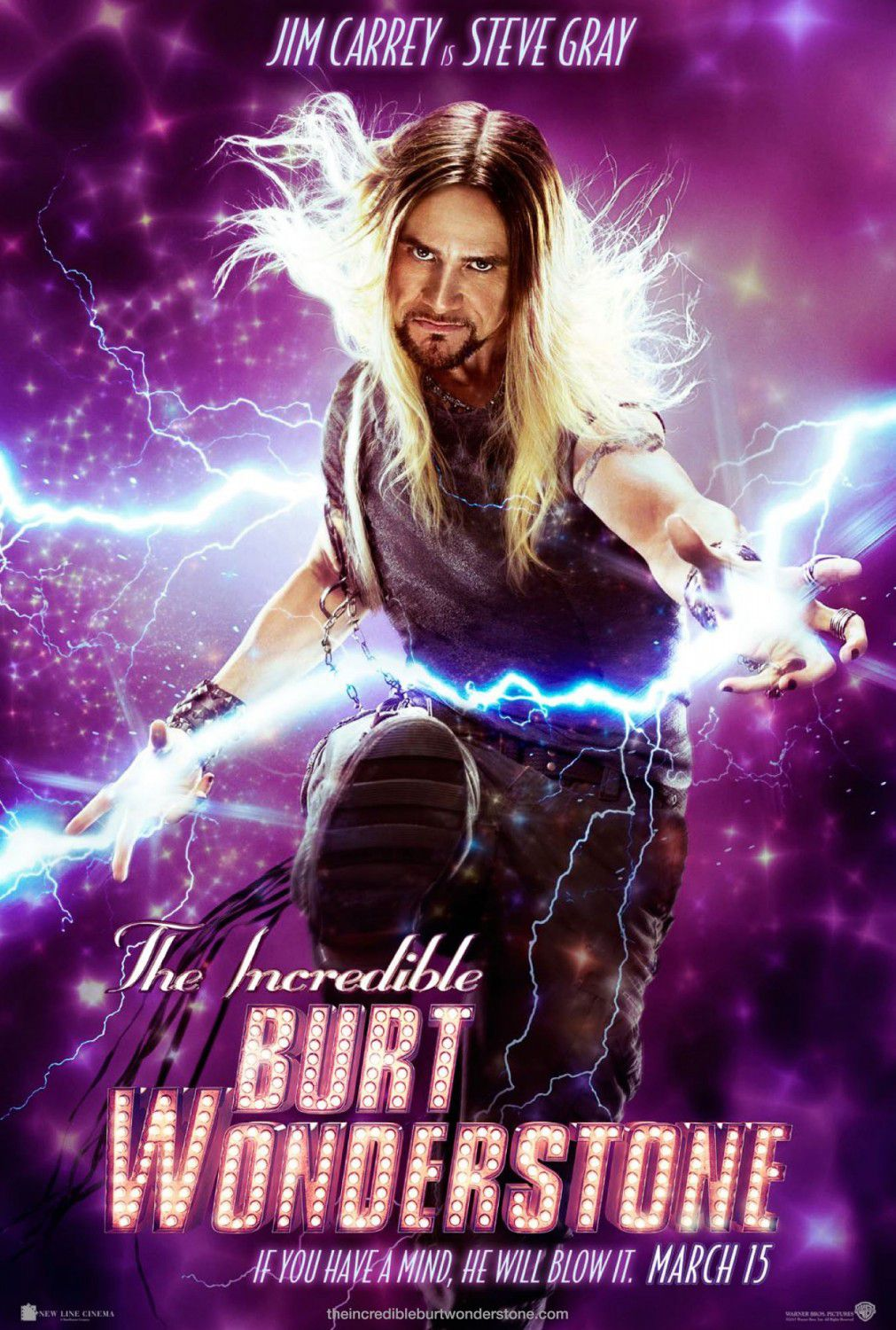 Incredible Burt Wonderstone - Jim Carrey is Steve Gray
