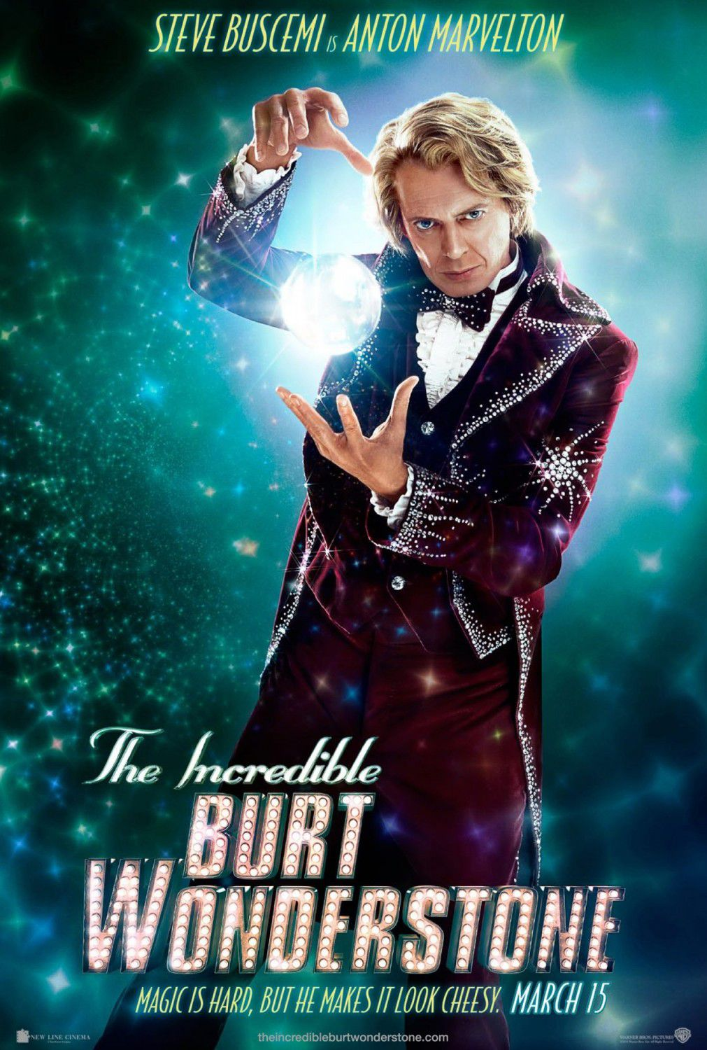 Incredible Burt Wonderstone - Steve Buscemi is Anton Marvelton