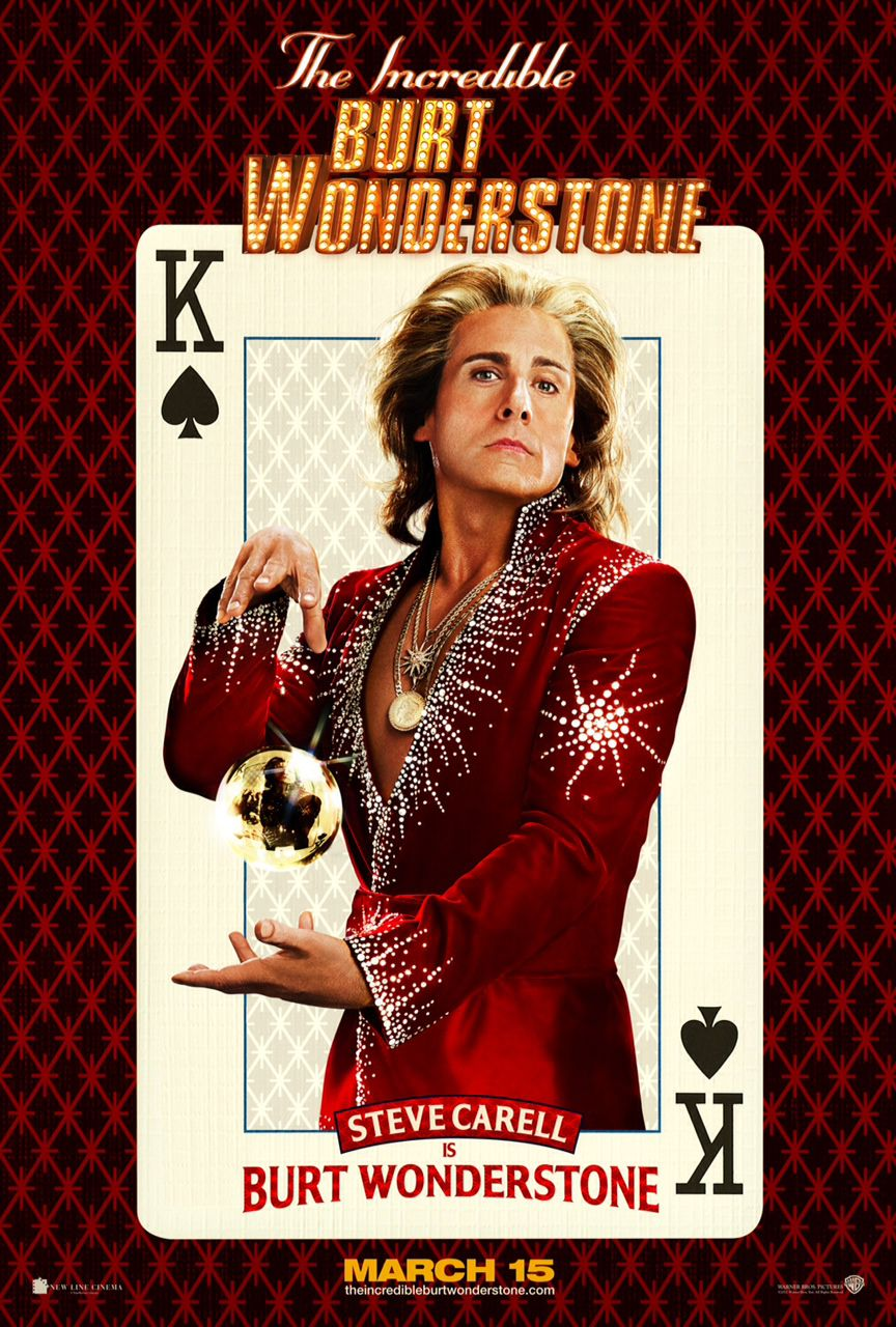 Incredible Burt Wonderstone - Steve Carell is Burt Wonderstone