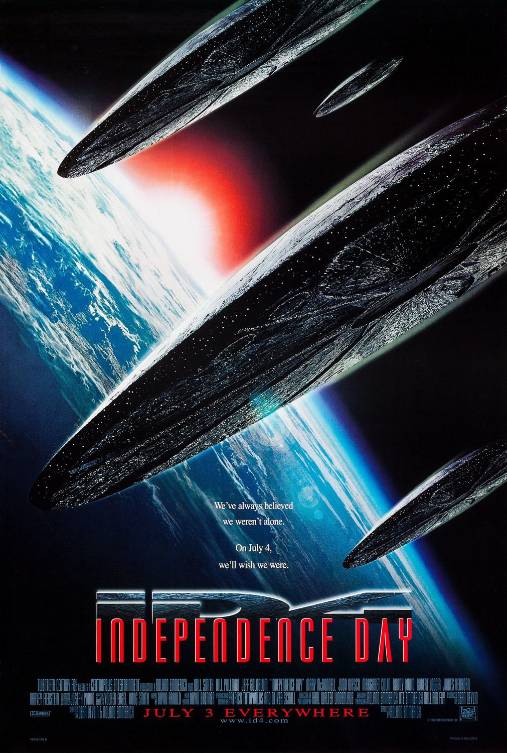 Independence Day - ID4 - Film poster