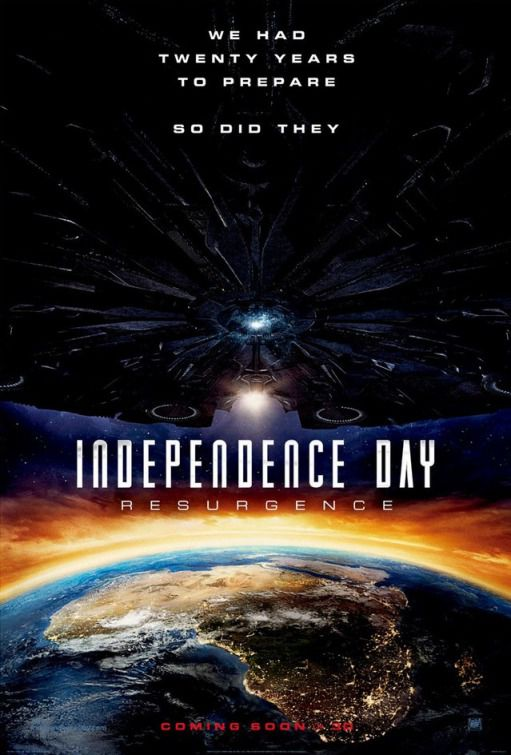 Independence Day Resurgence - film poster Africa