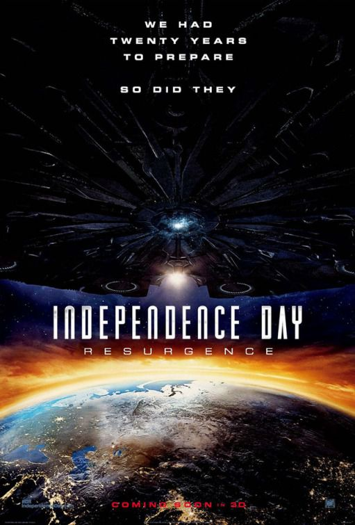 Independence Day Resurgence - film poster Asia