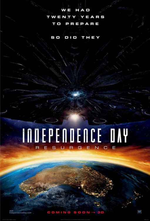 Independence Day Resurgence - film poster Australia