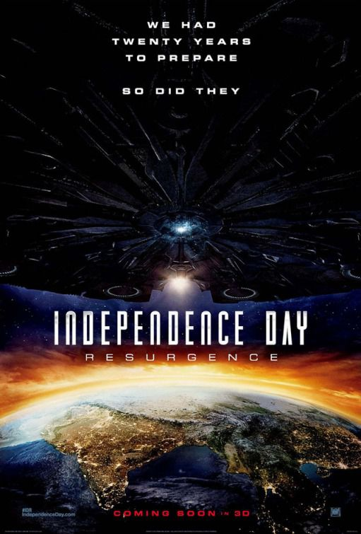 Independence Day Resurgence - film poster