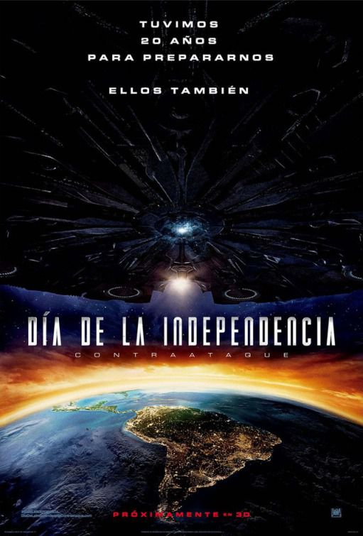 Independence Day Resurgence - film poster Latin America Independence Day Resurgence - film poster Latin America