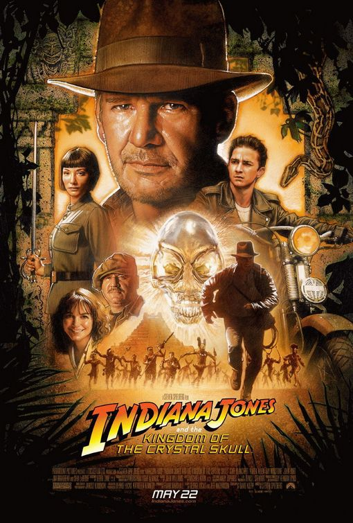 Indiana Jones 4 - Il Regno del Teschio di Cristallo - Kingdom of the Crystal Skull