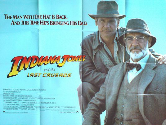 Indiana Jones 3 - L'Ultima Crociata - Last Crusade - poster
