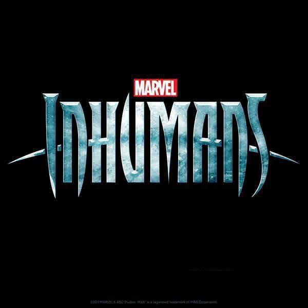 TV Series - Inhumans - Marvel live action - poster logo