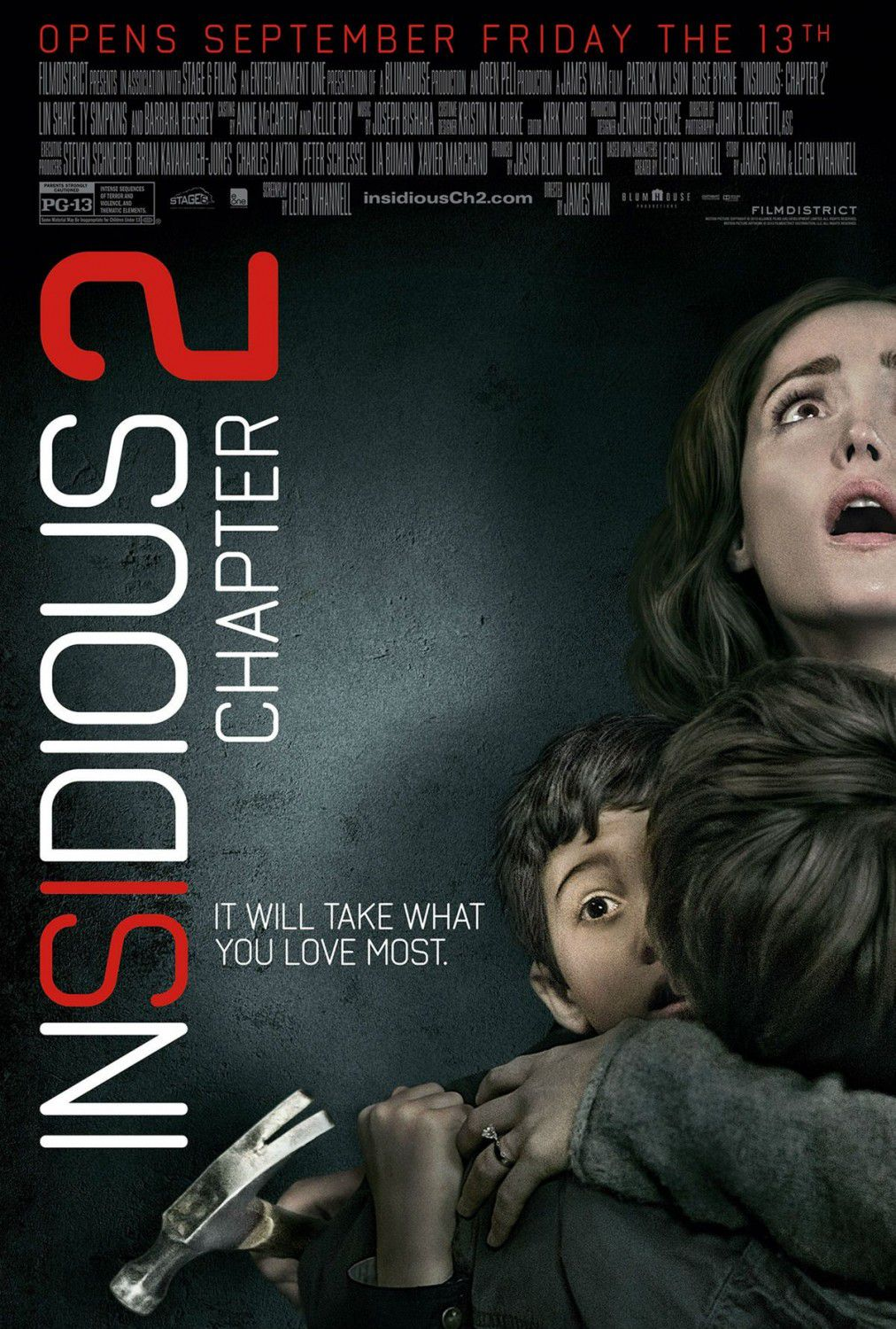 Insidious chapter 2 - it will take what you love most - horror poster