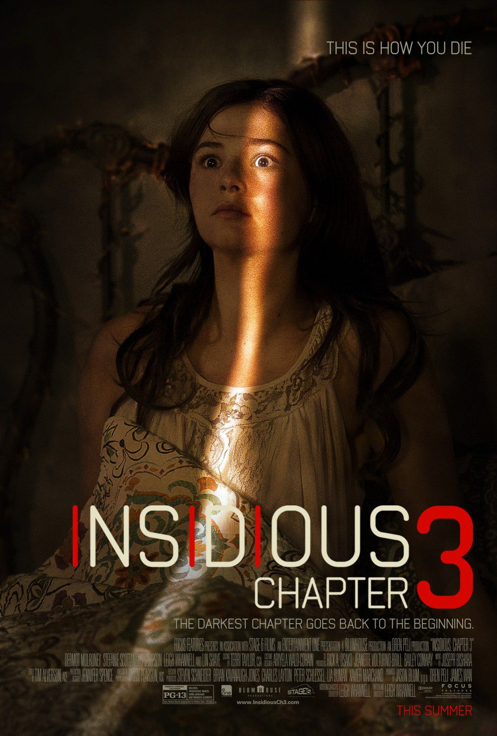 Insidious chapter 3 - horror poster