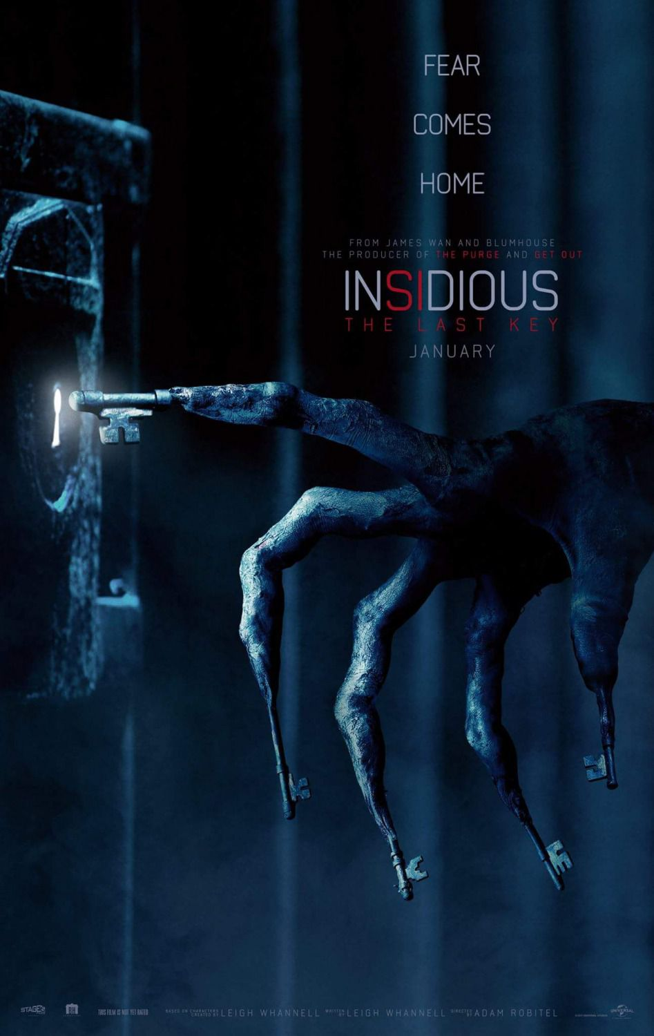 Insidious chapter 4 the last key - film horror poster