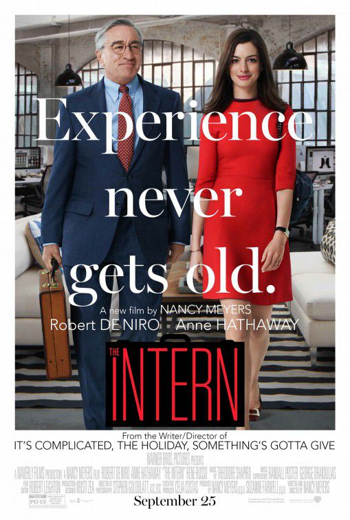 Lo Stagista inaspettato - Intern - film - Robert De Niro - Anne Hathaway