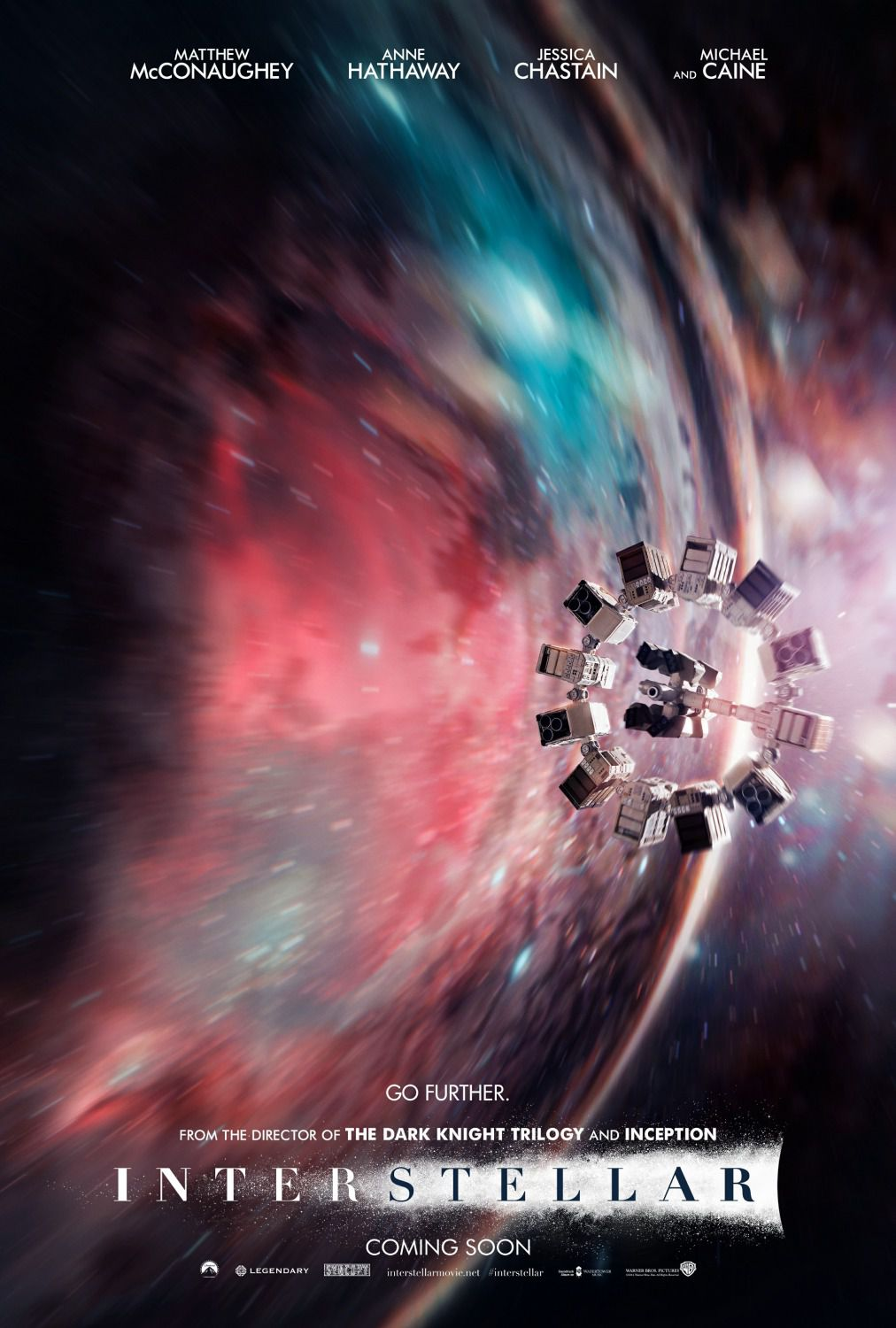 Interstellar - poster - space station
